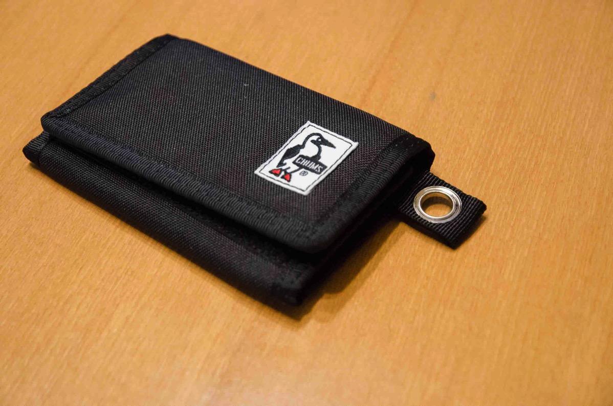 一度は試してみよう!サイクリング用に小型の財布CHUMS Eco Small Wallet