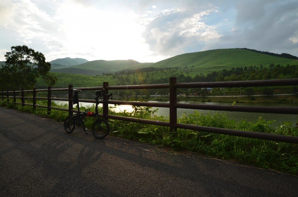 折りたたみ自転車DAHONで輪行サイクリング!【レンタカーで白樺湖編】