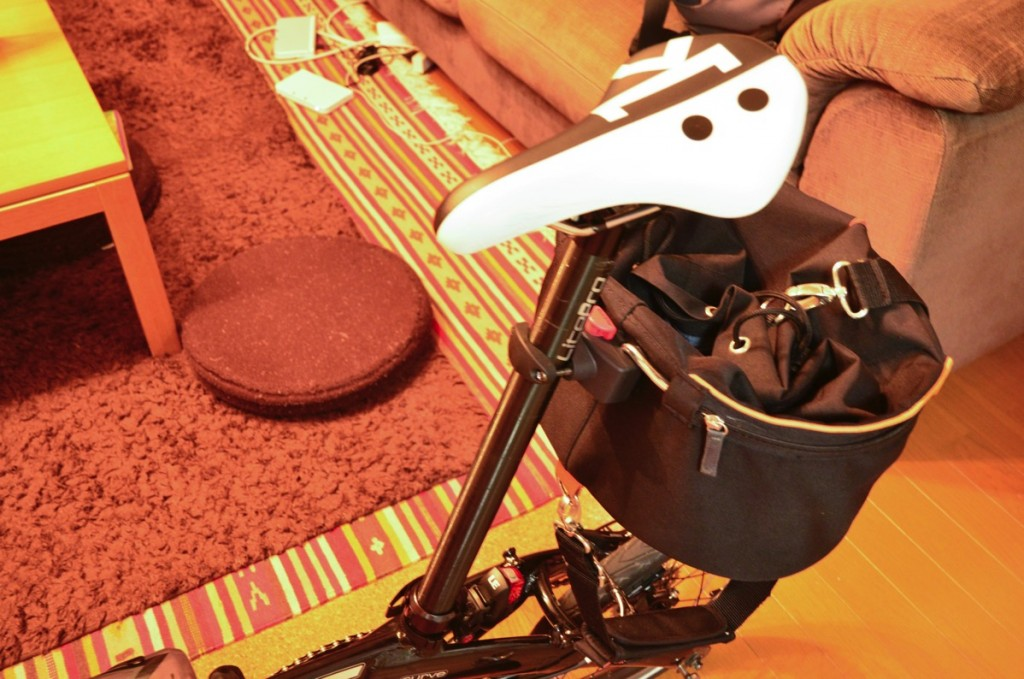 折りたたみ自転車DAHONで千葉県1周をする【その4自転車カバンを用意した】
