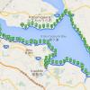 霞ヶ浦一周のカスイチに挑戦!折りたたみ自転車DAHONで100km走るときに気をつける6つのこと