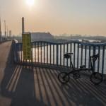 DAHON Curve D7で行くサイクリング【銀座へ通勤編】
