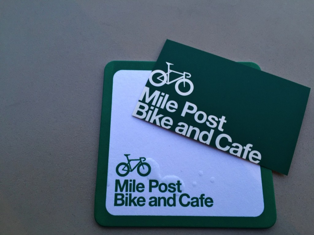 自転車好きな人のためのカフェが隅田川にかかる永代橋にあるらしい、その名もMile Post