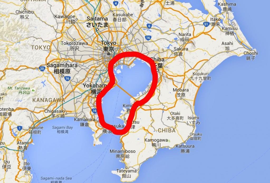 折りたたみ自転車DAHONで千葉県1周をする【その3いきなりの完結編w】