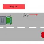 【安全サイクリングのコツ】勇気を出して50cm右を走るとむしろ安全という話!