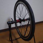 折り畳み自転車Tyrell FXのタイヤを新品のSchwalbe DURANOに交換して気づいたこと