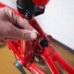 折りたたみ自転車で走行中に軋む音がします。原因はいったい?