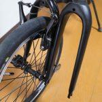 折りたたみ自転車DAHON Curve D7にカーボンフォーク!?その1