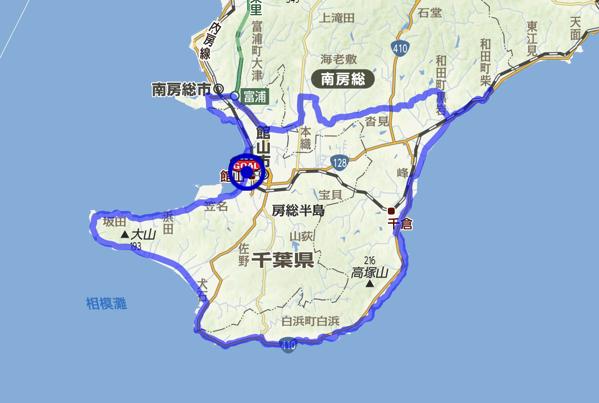 80km route