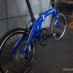 折りたたみ自転車DAHON Mu SP9についに試乗できました!