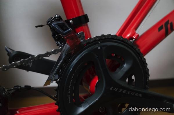 ヒルクライムも楽々?折りたたみ自転車Tyrell FXにフロントディレーラーを搭載!